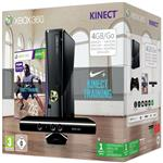 Console Xbox 360 4 Go Microsoft + Kinect + Nike Kinect Training